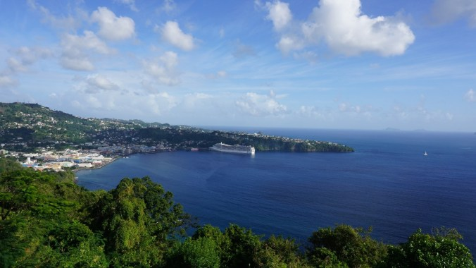 Saint Vincent si the Grenadines - fort charlotte view