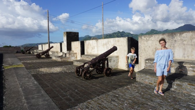 Saint Vincent si the Grenadines - fort charlotte2