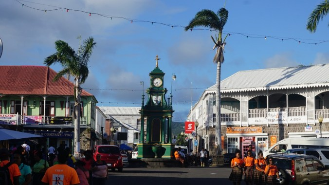 St. Kitts si Nevis - basseterre downtown1