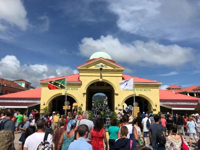 St. Kitts si Nevis - port zante