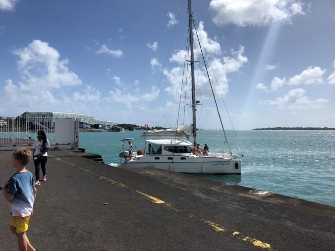 croaziera in caraibe - catamaran trip