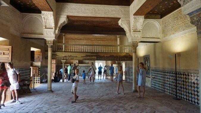 Alhambra- nasrid palace