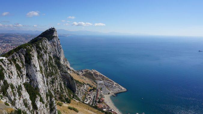 Gibraltar - the rock 1