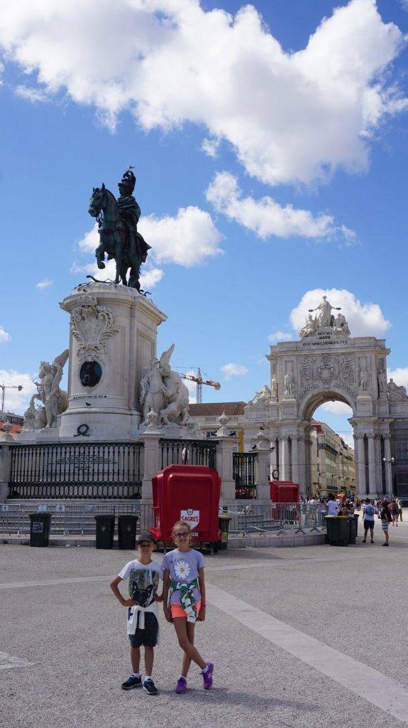 Lisabona - square