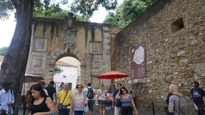 Lisabona - sao jorge castle