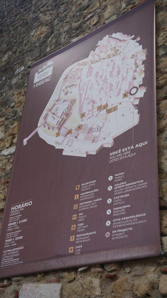 Lisabona - sao jorge castle1