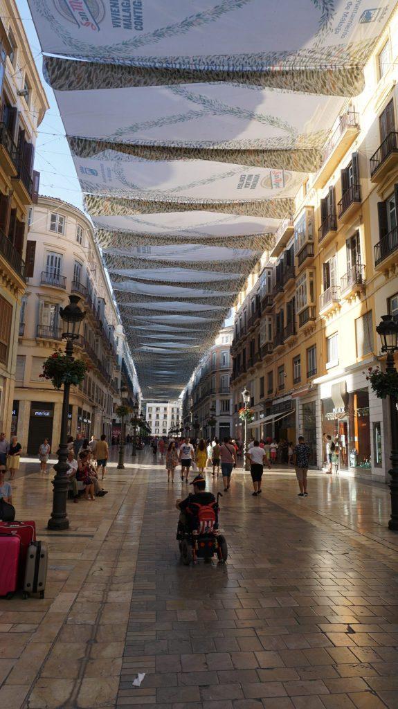 Malaga -historic center