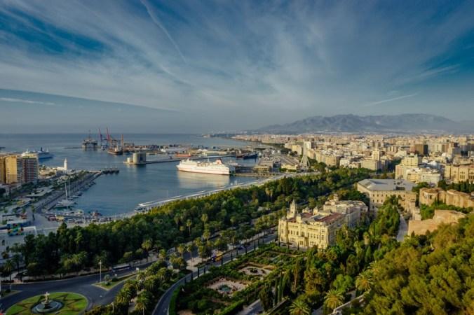 Malaga - view