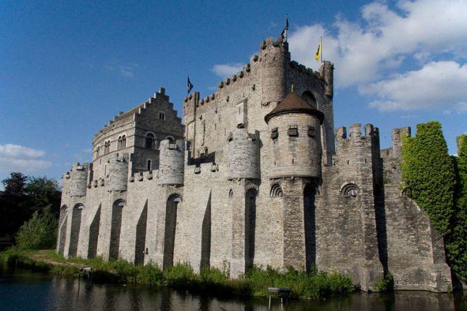 gent - gravesteenn castle