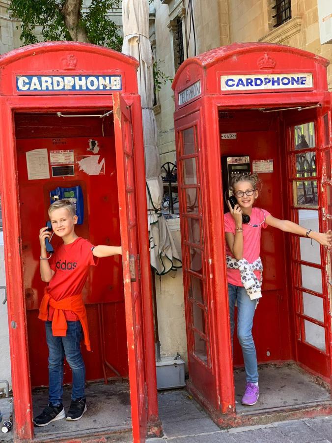 Malta - phone booth