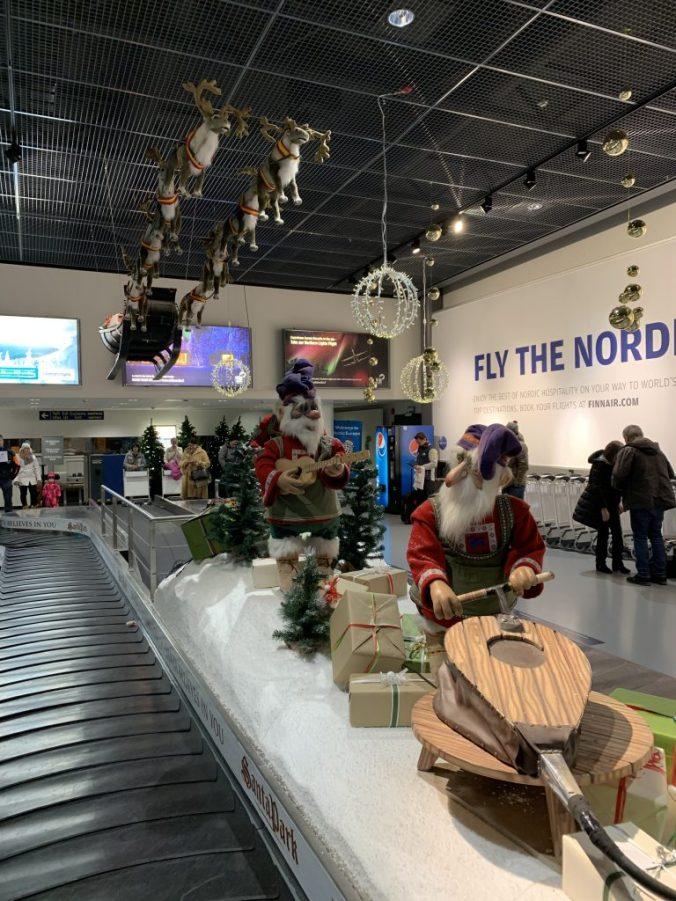 Laponia - rovaniemi airport