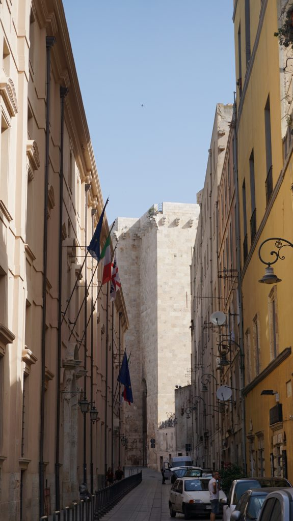 Cagliari - torre dell'elefante