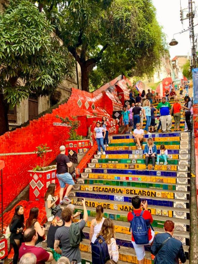 Rio de Janeiro - selaron stairs