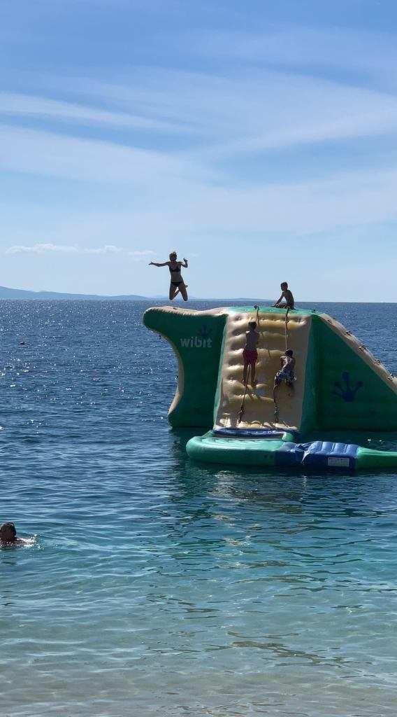 makarska - water slide