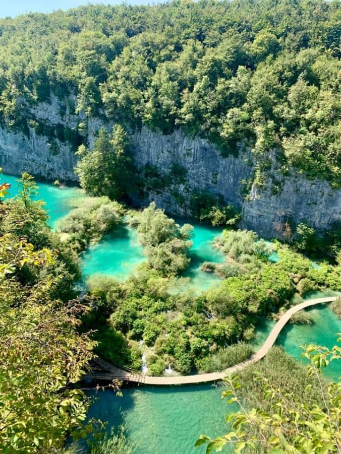 plitvice - big waterfall