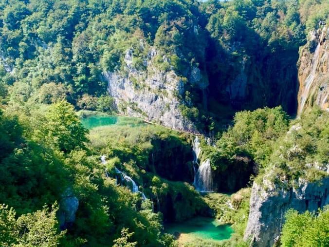 plitvice - panoramic