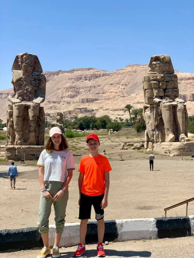 egipt - colosii lui memnon