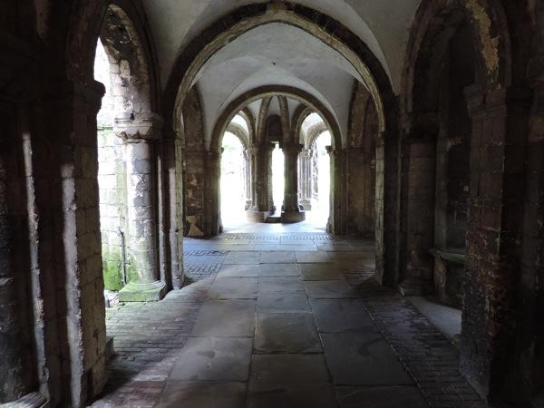 Canterbury, il chiostro della Cattedrale