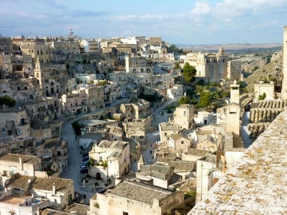 Vista dal Duomo di Matera