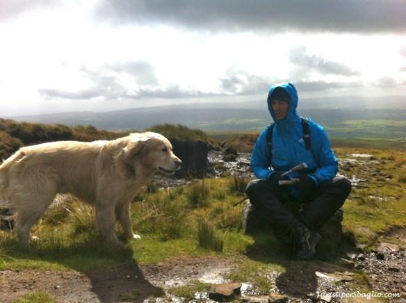 UK 2014 - 1° Climbing Ingleborough Mountain - Bentham - 13