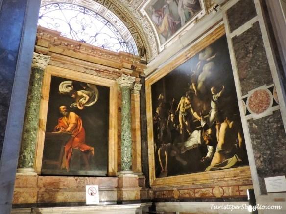 Roma, Caravaggio San Matteo
