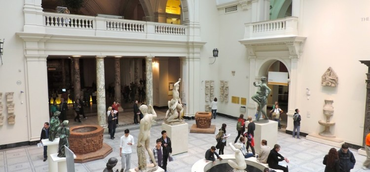 25) UK 2014 – Fare gli etologi a #Londra il Victoria and Albert Museum…