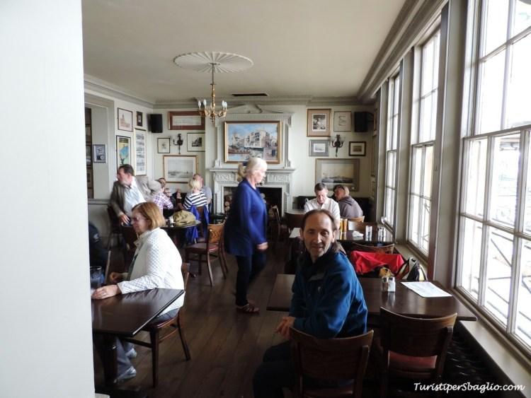 Trafalgar Tavern Pub Londra Greenwich