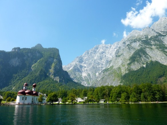 1) Berchtesgaden - Konigsee