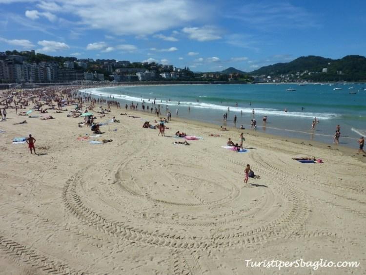 San Sebastian - Paesi Baschi - La Playa