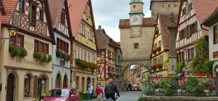 Rothenburg ob der Tauber sulla Strada Romantica in Germania