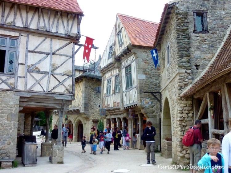 Il parco del Puy du Fou: il villaggio medioevale