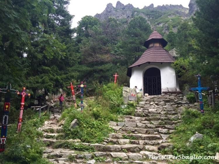 Tatransky Symbolicky Cintorin - Il Cimitero degli Escursionisti