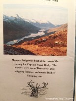 Mamore Lodge, West Highland Way - Scozia