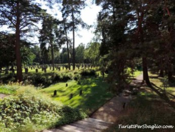 Skogskyrkogården o Woodenhall, il Cimitero di Stoccolma
