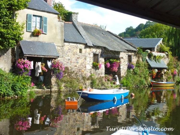 Viaggio in Bretagna Pontrieux, il paese delle Lavandaie