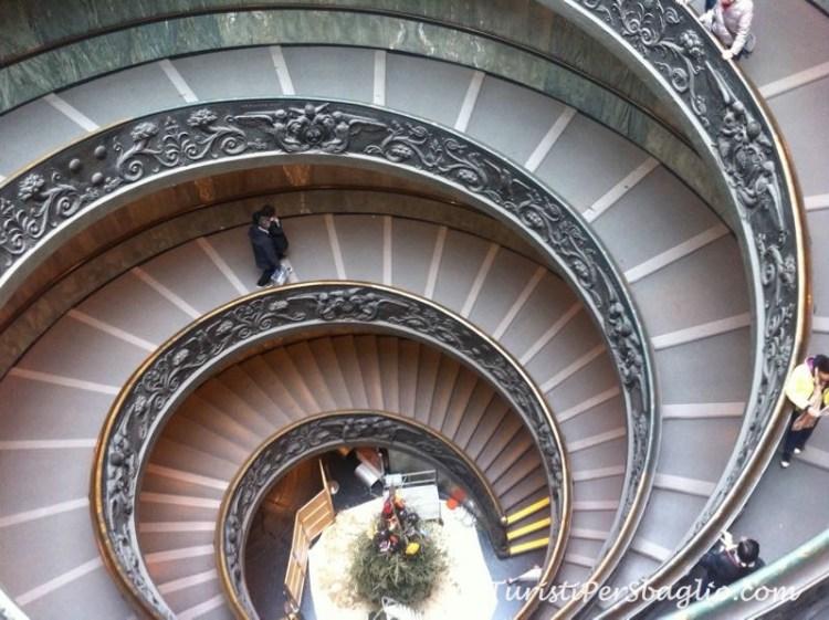 Musei Vaticani Scala Elicoidale di Giuseppe Momo
