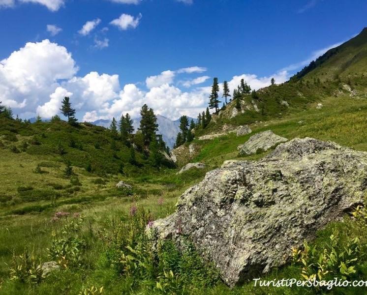 Les Plans, Trekking al Lago di Vaux, Canton Vallese