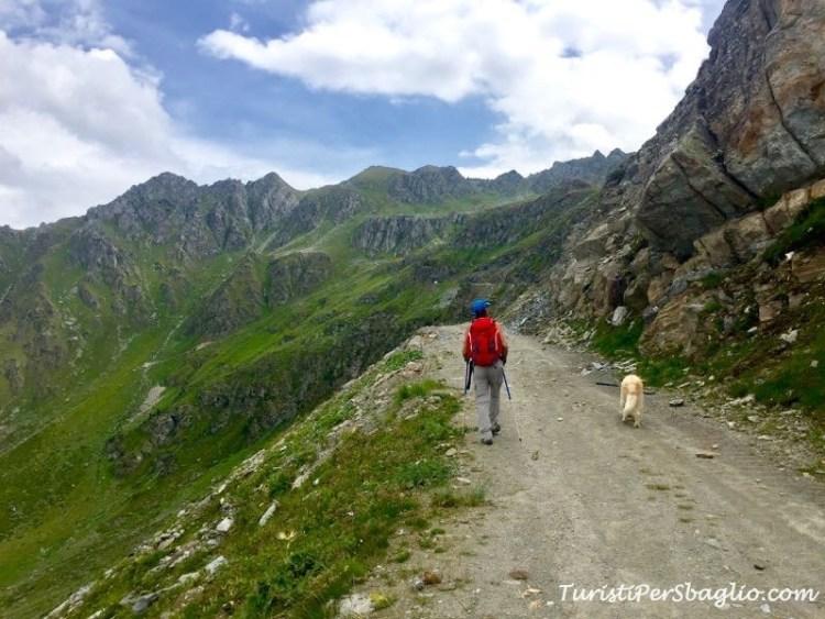 TrekkingLac di Vaux, Canton Vallese
