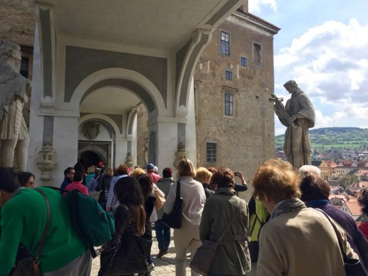 Cesky Krumlov Castello