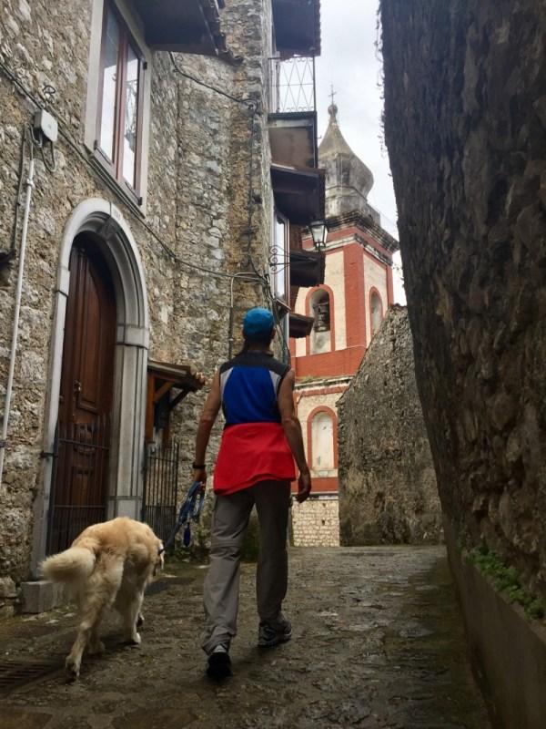 Parco Nazionale del Cilento Morigerati, Borgo Storico