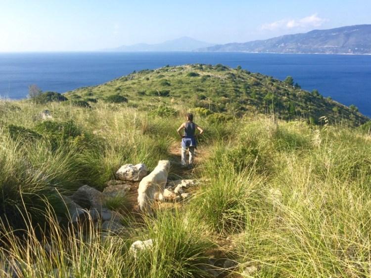 Capo Palinuro, Passeggiata al Faro,