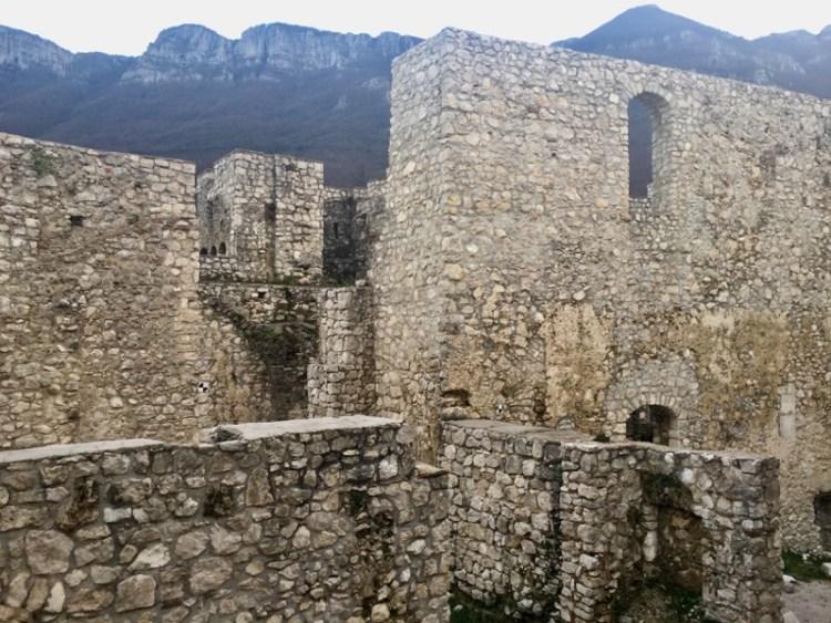 Sicignano degli Alburni, il Castello - Cilento