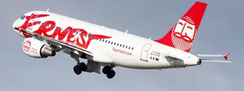İtalyan Ernest Airlines'ın operasyonu durduruldu.