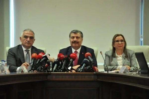 Bakan Ersoy: Bir hafta içinde sektörel destekleri açıklayacağız.