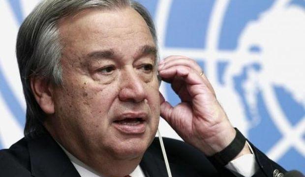 Guterres: Gazze'nin de içerisinde olduğu bir Filistin devletinin hayalini kuruyorum