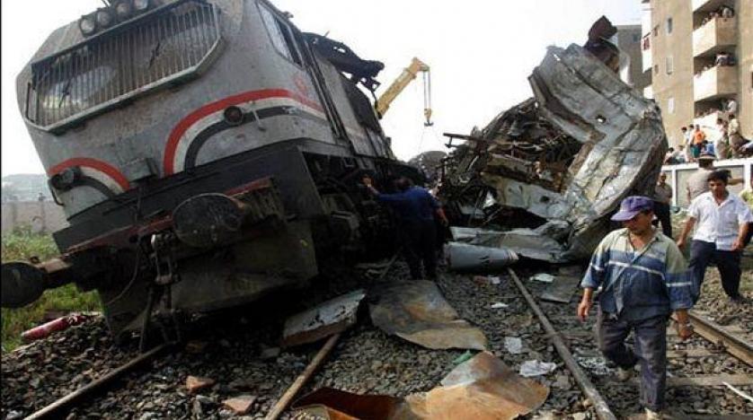 Mısır'da tren kazası: 10 ölü