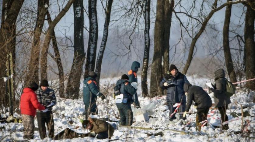 Rusya, uçak kazasının ardından arama çalışmalarına başladı