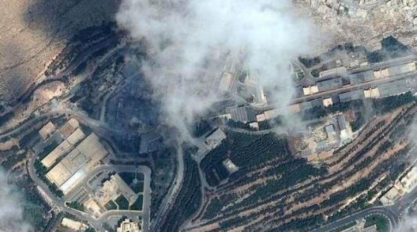 Suriye'de vurulan hedeflerin öncesi ve sonrası