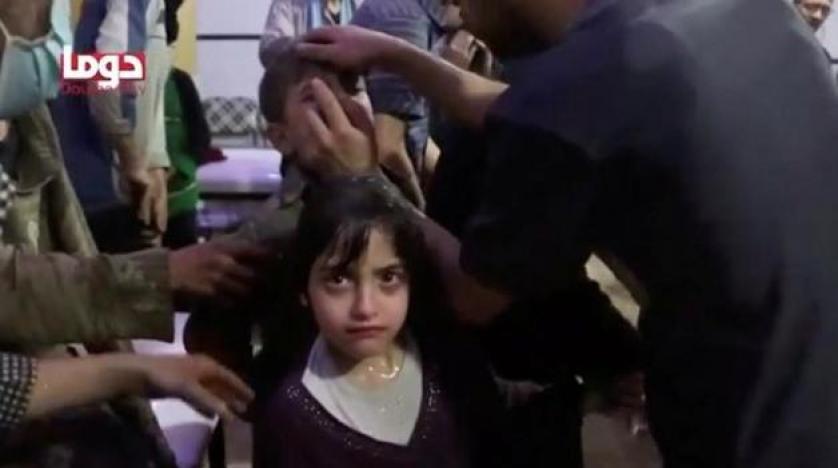 7 yaşındaki Suriyeli Mesa, kimyasal saldırı anını anlattı
