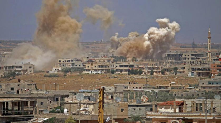 Yoğun bombardıman altındaki Güney Suriye'den 120 bin kişi göç etti